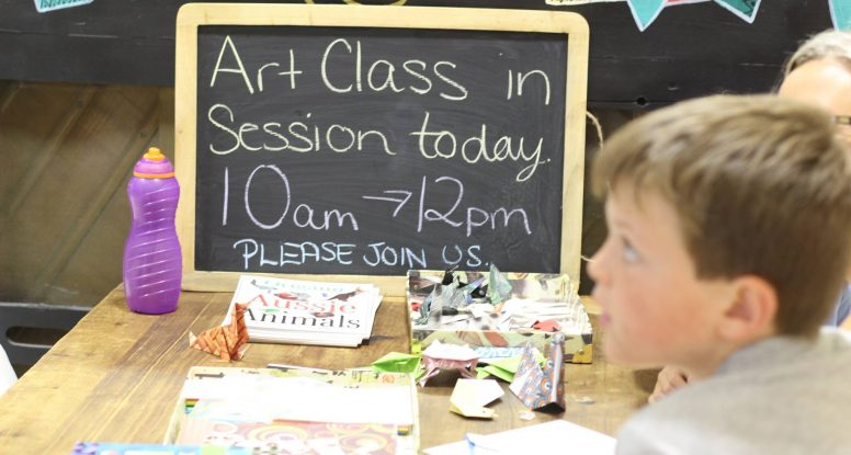 Art class in session today