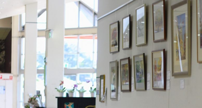 Eric Hudson exhibition at Pasadena Foodland