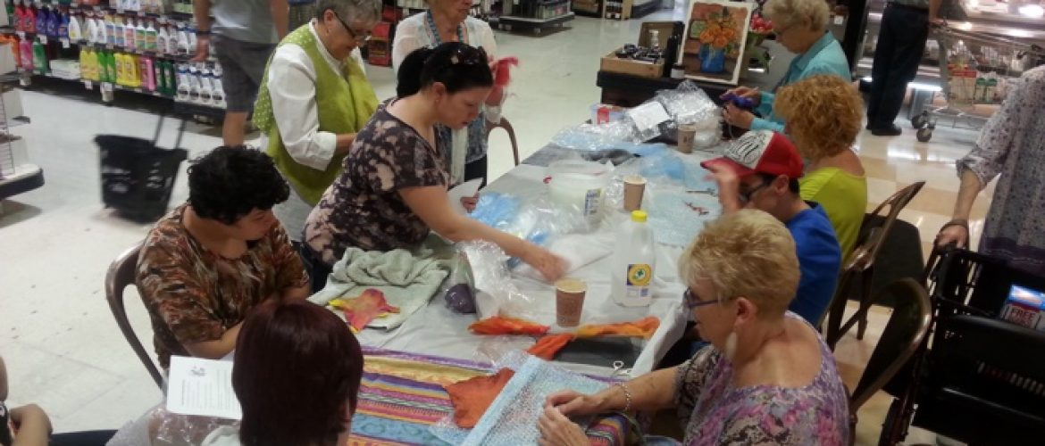 Felting with Judy Styles