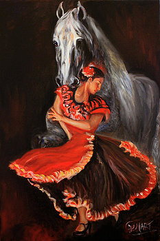 Dancing with Horse - Gerard Mignot
