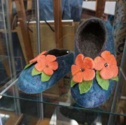 Felting-exhibition at Gallery One