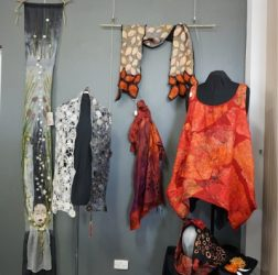 Felting-exhibition at community art Gallery One