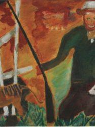Chris White 'Last Thylacine shot 1' (1996)