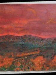 Chris White 'Fire landscape' (2007)