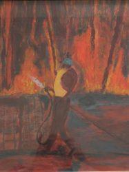 Chris White 'Fire at No. 423' (2005)