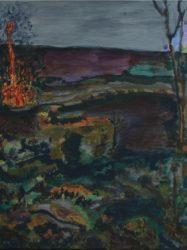 Chris White 'Small fire tornado' (2012)