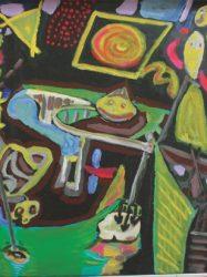 Chris White 'Night fishing at Wild Dog Creek' (1998)