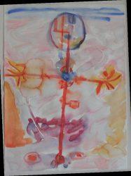 Chris White 'Abstract watercolour' (2010)