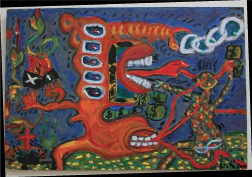 Chris White 'Religion is poisonous' (2000)